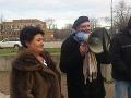 Protest proti parkovnému: Svinstvo, že sa nájde chytrák, ktorý na tom chce zarábať!