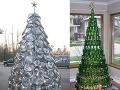 Aj takéto môžu byť vianočné stromčeky: Originálne a priateľské k prírode