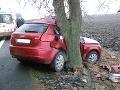 Smrteľná nehoda v smere na Nitru: Vodič (†28) vyletel cez bočné okno