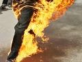Brutálna vražda v Egypte: Islamskí militanti uniesli a zaživa upálili dvoch kresťanov