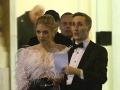 Matej Sajfa Cifra s partnerkou Veronikou Ostrihoňovou.