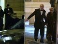 Boris Kollár svojej partnerke Andrei Heringhovej galantne pomohol pri nasadaní auta. Hercovi Františkovi Kovárovi bola manželka veľkou oporou. A to doslova.