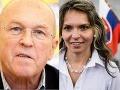 Trapas kandidátov na prezidenta v diskusnej relácii: Mezenská a Fischer