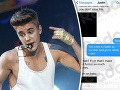 Škandál: Hulvát Justin Bieber žobroní o lásku - fotkou prirodzenia v erekcii!