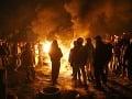 Vyhrotená situácia na Ukrajine: Demonštranti obsadili na západe krajiny vládnu budovu