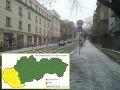 Sneh pokryl už aj západ Slovenska: Vodiči pozor, meteorológovia vydali výstrahu!