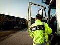 Na autobusy a nákladné autá podrobne dohliada polícia v celej Európe