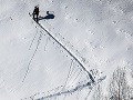 Pozor: V Tatrách stále trvá lavínové nebezpečenstvo