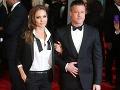 Chudučká Angelina Jolie uchvátila: S Bradom Pittom ako cez kopirák!