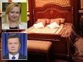 Najväčšie tajomstvo z Janukovyčovej vily: V kráľovskej posteli nespával sám, no ani s manželkou!