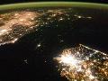 Severná Kórea je čierna diera: Pozrite na ten šokujúci rozdiel z vesmíru!