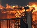 Pri Banskej Štiavnici horela chata: Bolo v nej 49 ľudí, najmä deti z Bratislavy!