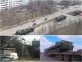 Masový presun ruských vojsk vydesil Ukrajincov: Tanky a raketomety už nielen na Kryme!
