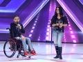 Claudia Farkašová a Ricco Šarközi v X Factore.