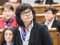 Žitňanská: Smer dal na predkladanie nominácií do Súdnej rady len 24 hodín