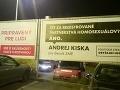 Ďalšia špinavosť v kampani: Matovič tvrdí, že bilbordy proti Kiskovi nepatria OĽaNO