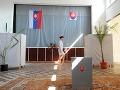 Volebný akt Roberta Fica v druhom kole prezidentských volieb
