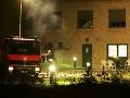 Pre požiar v bytovom dome evakuovali v  Klagenfurte 100 ľudí