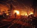 Pri oslavách iránskeho sviatku ohňa zahynulo desať ľudí a stovky sa zranili