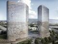 Pri bratislavskom Apolle vyrastú dve veže: Každá bude mať 25 poschodí!