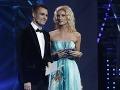 Adela Banášová a Leoš Mareš spoločne moderovali spevácku šou Česko Slovenská SuperStar.