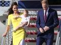 Nádherná vojvodkyňa Kate uchvátila žltou róbou: Ups, Princ William ju zahanbil!