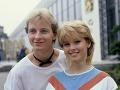 Petr Sepéši a Iveta Bartošová v roku 1985