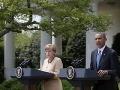 Merkelová a Obama kujú pikle: Rusom hrozia ďalšie sankcie