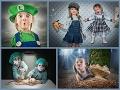 FOTOREPORTÁŽ Deti a žena nadovšetko: Kreatívne zábery otca jednej bláznivej rodiny!