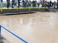 Situácia po povodniach na východe stabilizovaná: Na Dunaji platí 1. stupeň!