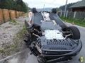 FOTO Vážna nehoda v Turzovke: Opitý vodič Mercedesu vrazil do škodovky, ťažko zranil jej šoféra (22)!