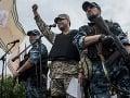 Luhanská domobrana oznámila zostrelenie lietadla vládnych síl