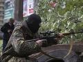 Ukrajinská armáda obnovila ostreľovanie Slovjanska
