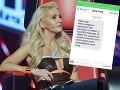 Dara Rolins obeťou vydierania: Jej fotky zo súkromia na predaj!