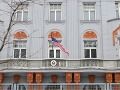 Ambasáda Spojených štátov amerických na Hviezdoslavovom námestí.