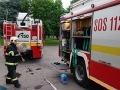 V Lozorne horelo nákladné auto, požiar zrejme vznikol úmyselne