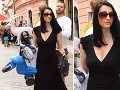 Hablovičová na potulkách mestom: Ukázala rodinku aj materské prsia!