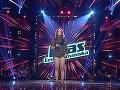Lenka Hrůzová vystupovala bosá a pod novým umeleckým menom Lo Hrůzová.