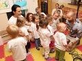 Malí škôlkari dostali Opatovského