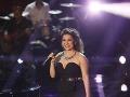 Vendula Příhodová zaspievala skladbu od Alanah Myles - Black Velvet a od Věry Špinarovej - Jednoho dne se vrátíš.