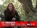 Kým väčšina súťažiacich predstavila divákom aj svoje rodiny, Lo Hrůzová mala v dokrútke len kamarátov.