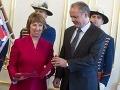 Prezident Kiska udelil štátne vyznamenanie šéfke európskej diplomacie