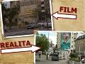 Filmári zachytili aj centrum Bratislavy. Budovy na križovatke Kamenného námestia a Námestia SNP sú spoznateľné, okolie sa trochu zmenilo.