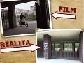 V areáli školy na Mikovíniho ulici sa nakrúcala aj scéna s motorkárom, ktorého si zahral Robo Grigorov.