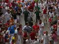 Nebezpečné oslavy v Španielsku: Pri behu s býkmi sa zranili štyria ľudia