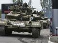 Separatisti ukradli z múzea v Donecku tank z druhej svetovej vojny
