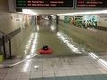 Slovensko zasiahli silné búrky: Tretí povodňový stupeň, meškajú vlaky!