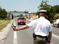Polícia v Bratislave počas akcie nachytala 217 vodičov