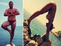 Jožo Pročko a jeho manželka sa venujú joge