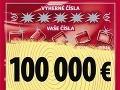 Na žrebe Niké vyhrali 100 tisíc eur!